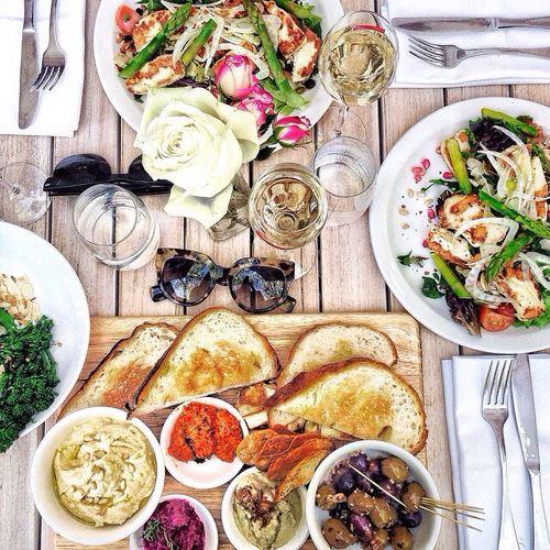野菜中心のバランスよい食事