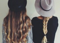 髪型の違う女性2人の画像