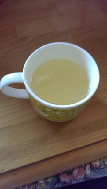レモン入り白湯の画像