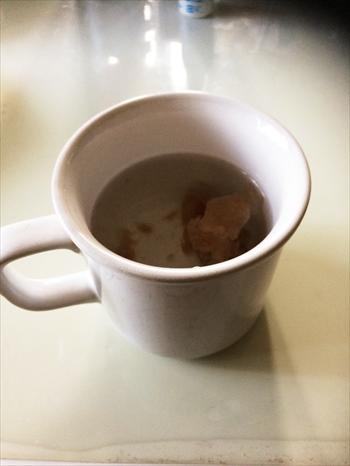 梅入り白湯の画像