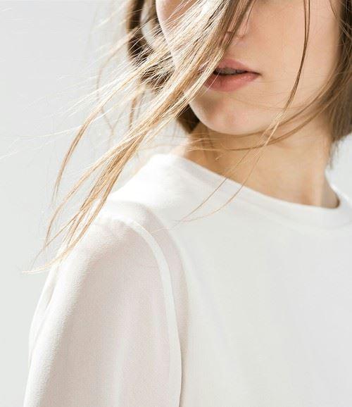 美しい透明肌の女性2