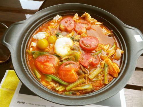 キムチ&トマトのダイエット鍋