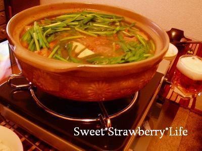 お野菜たっぷり!ピリ辛キムチ鍋