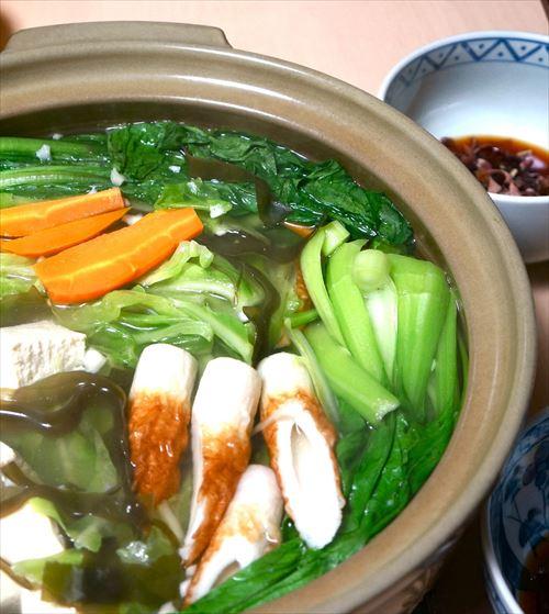 野菜だらけ鍋 ダイエットにカロリーオフ