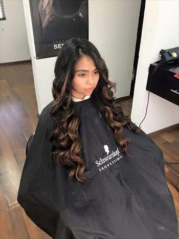 女性の髪型2