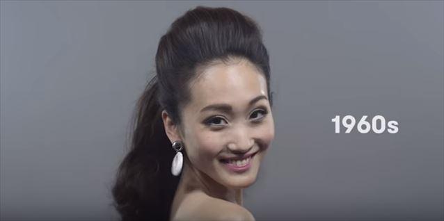 日本のヘアメイクトレンド100年史動画キャプチャ9