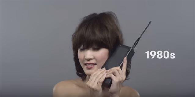 日本のヘアメイクトレンド100年史動画キャプチャ12