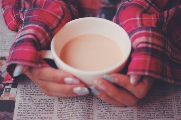 本格的に淹れた紅茶