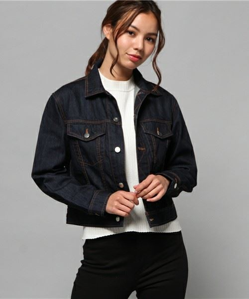 「AZUL by moussy」9.8ozストレートヨークGジャン