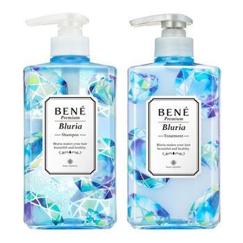 ベーネ プレミアム(BENE Premium)「ブルーリアクリアスパシャンプー/モイストスパトリートメント」