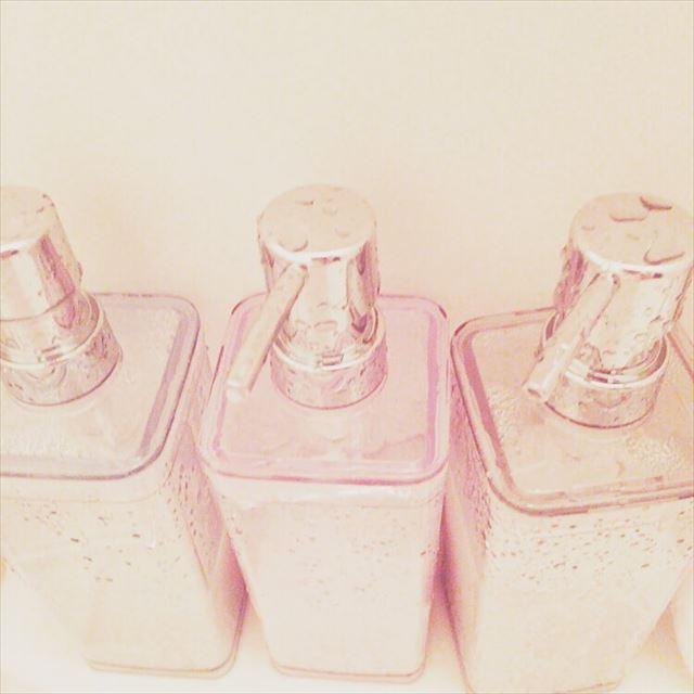 ニトリのオシャレで可愛いシャンプーボトルの画像2