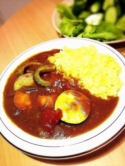 ひき肉で簡単に♡元気がでる夏野菜カレー