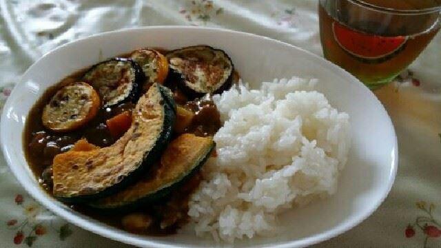 時短☆簡単☆たっぷり夏野菜カレー