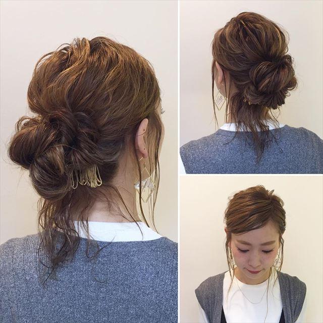 人気インスタグラマーYU-Uさんのヘアアレンジ画像3