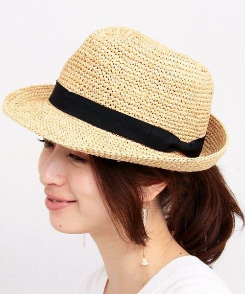 夏フェスにおすすめの帽子「麦わら帽子(カンカン帽)」の画像