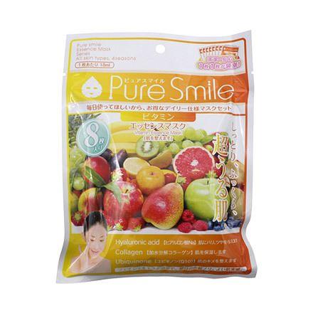Pure Smile(ピュアスマイル)「エッセンスマスク 毎日マスク8枚セット ビタミン」