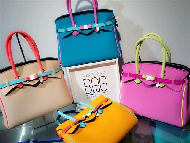 カラフルなSAVE MY BAGを並べた画像1