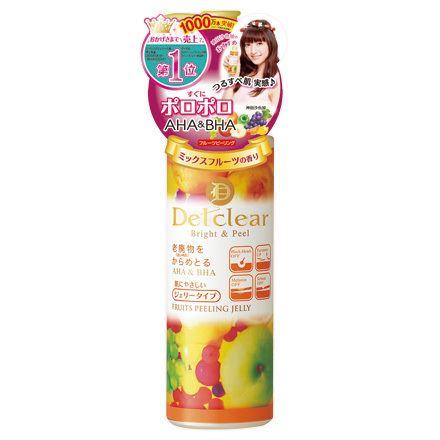 明色化粧品「DETクリア ブライト&ピール ピーリングジェリー<ミックスフルーツの香り>」