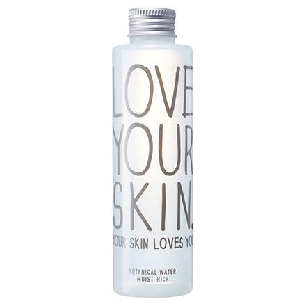 LOVE YOUR SKIN. YOUR SKIN LOVES YOU.(ラブユアスキンユアスキンラブスユー)「ボタニカルウォーターモイストIIリッチ」