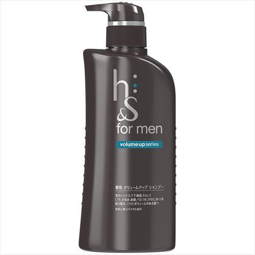 エイチアンドエス フォーメン(h&s for men)「薬用シャンプー ボリュームアップ」