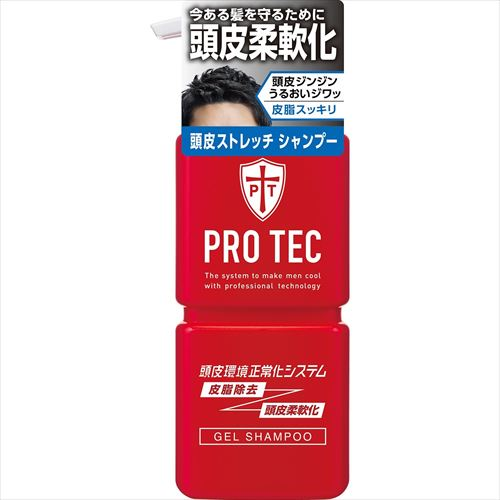 PRO TEC(プロテク)「頭皮ストレッチ シャンプー」