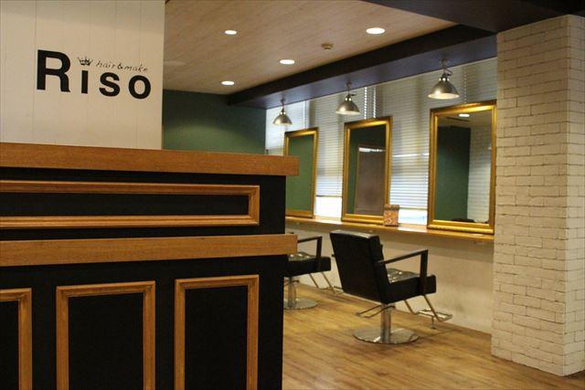 美容室銀座RISOの店内画像