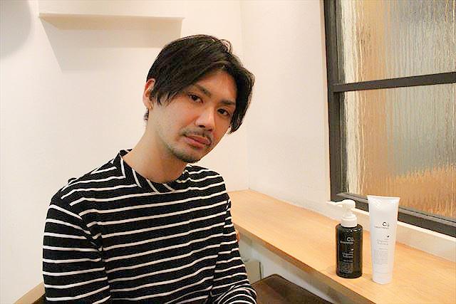 銀座美容室RISO(リソ)美容師のBUNTAがチャップアップシャンプーについて語っている画像1