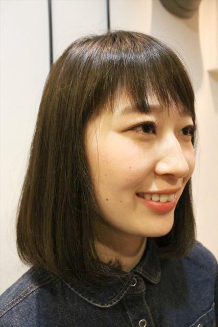 チャップアップシャンプー使用後の女性の髪の状態画像5