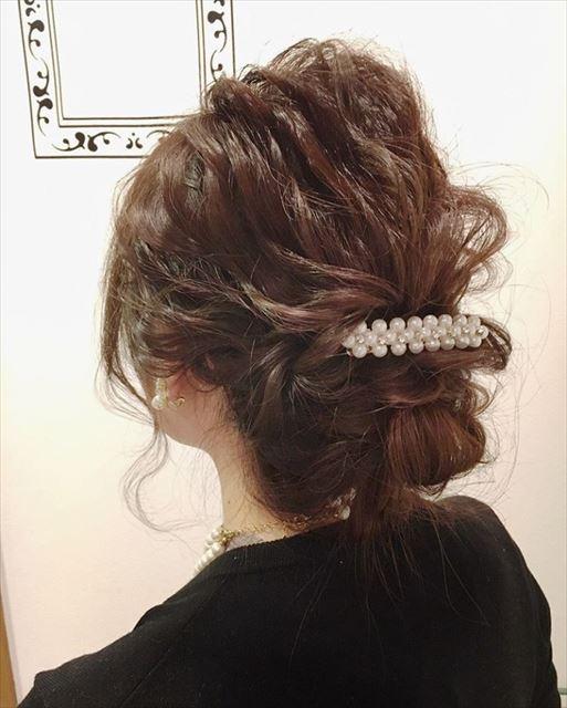 シニヨンじょうずを使って作りたいヘアアレンジ画像8