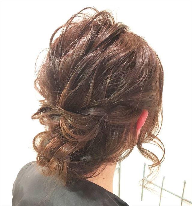 シニヨンじょうずを使って作りたいヘアアレンジ画像12