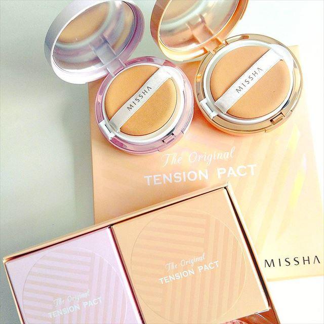 ミシャのファンデーション「テンションパクト」の商品画像4