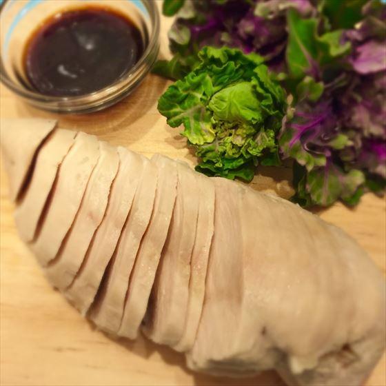 作り置きに。簡単!鶏胸肉のやわらか蒸し