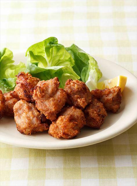 下味冷凍を活用!鶏の塩麹から揚げ