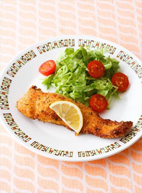 下味冷凍を活用!鮭のパセリパン粉焼き
