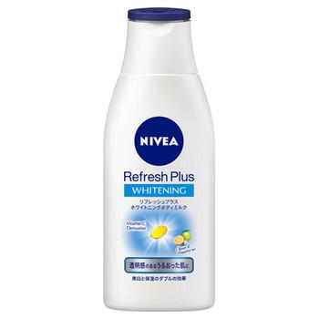 ニベア「リフレッシュプラス ホワイトニング ボディミルク」