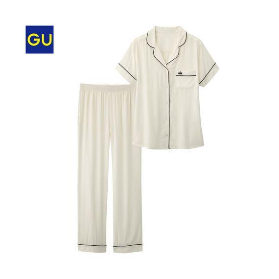 GU「パジャマ(パイピング・半袖)」