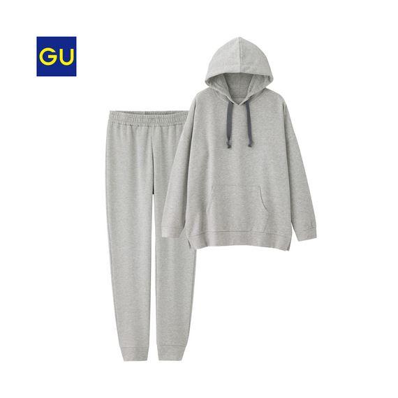 GU「スウェットパーカセット(裏起毛)A」