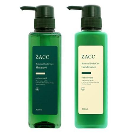 ZACC(ザック)「ZACC パールリッチシャンプー&コンディショナー」
