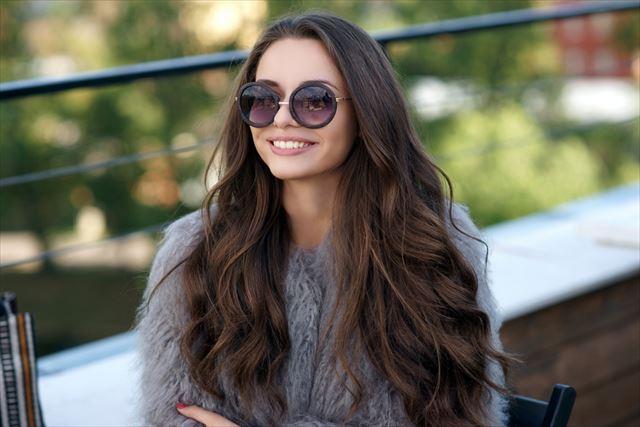 ぴったりのスカルプシャンプーで美髪を手に入れた女性の画像