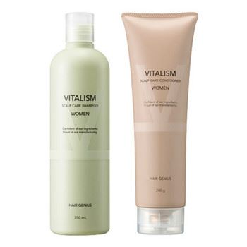 VITALISM(バイタリズム)「SCALP CARE SHAMPOO/CONDITIONER for WOMEN」