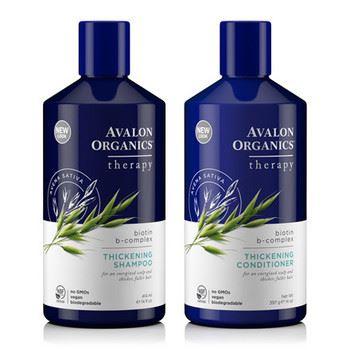 Avalon Organic(アバロンオーガニクス)「スカルプシャンプー/コンディショナーBBビオチンB」