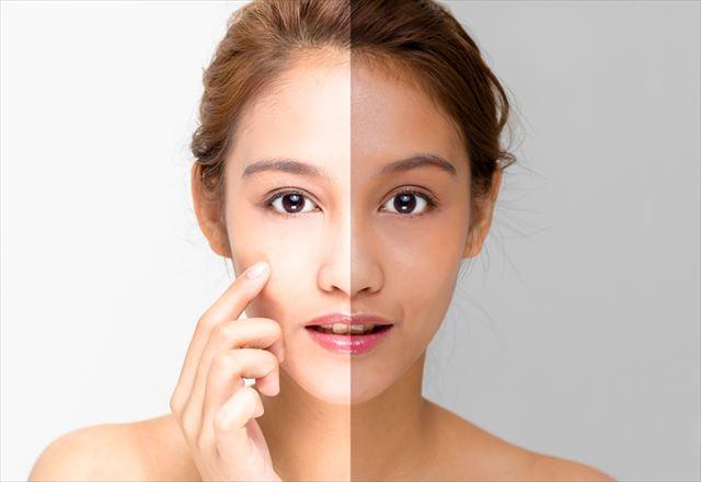 美白肌に憧れる女性の画像