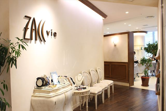 美容室ZACC「vie」の店内風景画像