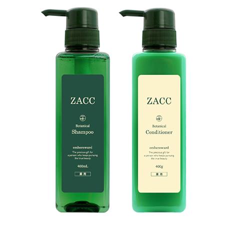 ZACC(ザック)「薬用ZACCボタニカルシャンプ―&コンディショナー」