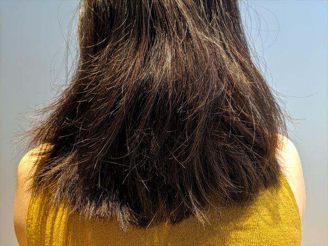 ボサボサに傷んだ髪の毛の画像2