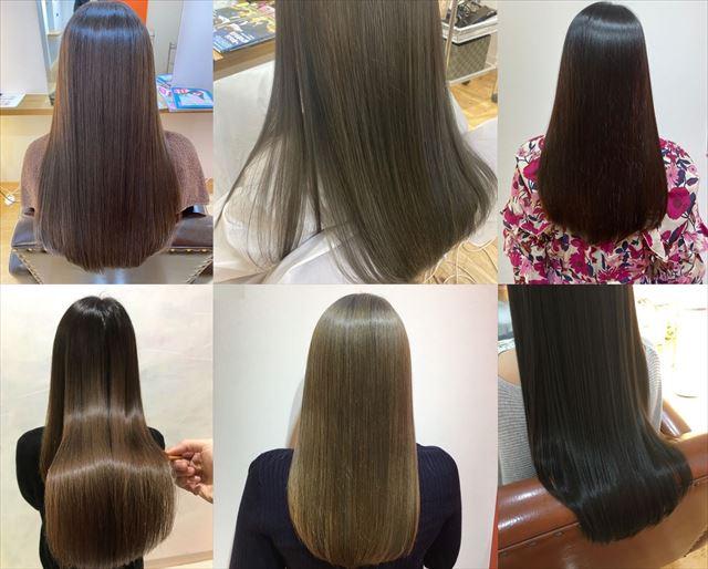 エイチツーオネスト(H2 ONEST)で水素トリートメントした女性の髪質効果画像6ショット