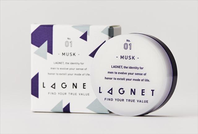 メンズ用練り香水ラグネットの商品画像