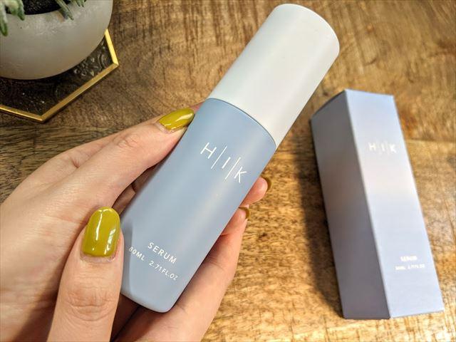HIK(ヒク)の導入美容液のパッケージ画像
